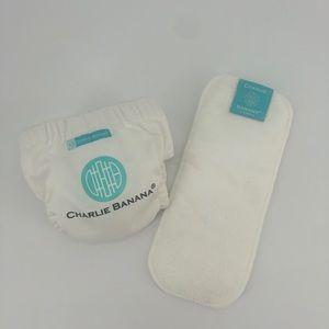 Baby Charlie banana cloth diaper & cover